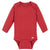 Premium Long Sleeve Onesies® Bodysuit in Red-Gerber Childrenswear Wholesale