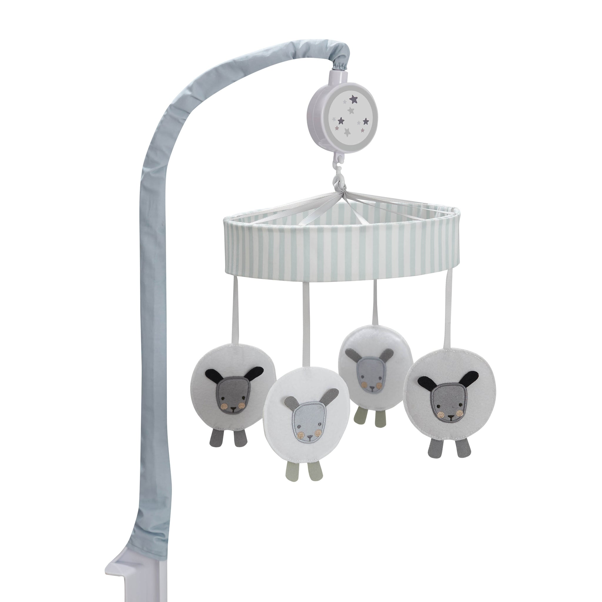 Baby Neutral Counting Sheep Musical Mobile-Gerber Childrenswear Wholesale