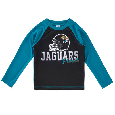 Jacksonville Jaguars Toddler Boys Long Sleeve Tee Shirt-Gerber Childrenswear Wholesale