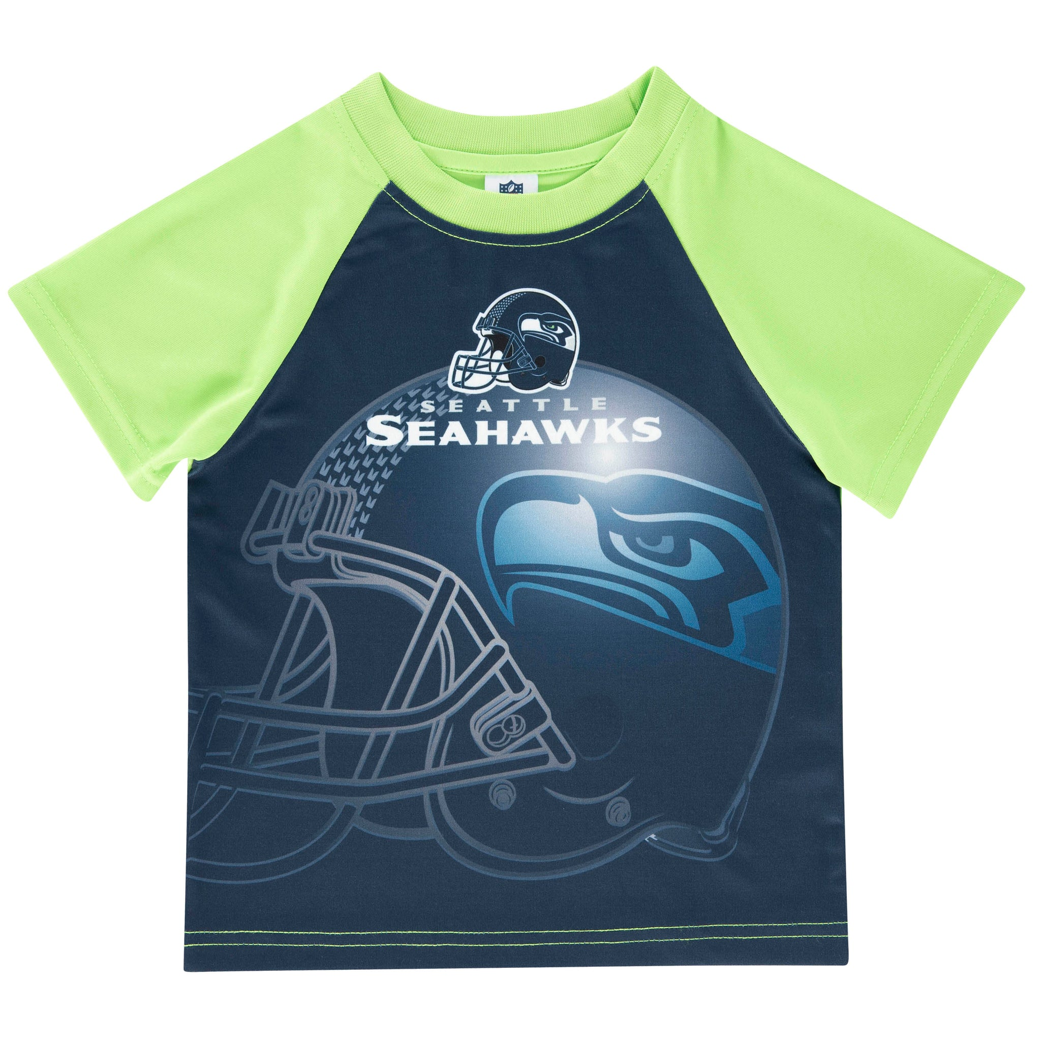 Seattle Seahawks Toddler Boys Short Sleeve Tee Shirt-Gerber Childrenswear Wholesale