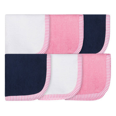 6-pack Woven Washcloths-Gerber Childrenswear Wholesale