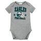 NFL Philadelphia Eagles Heather Grey Bodysuit-Gerber Childrenswear Wholesale