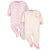 2-Pack Organic Baby Girls Bunny Sleep 'N Plays-Gerber Childrenswear Wholesale