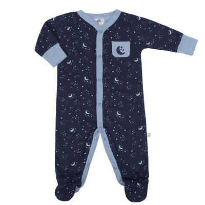 Just Born® Baby Boys Space Organic Sleep 'n Play-Gerber Childrenswear Wholesale