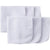 6-pack White Washcloth-Gerber Childrenswear Wholesale