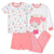 4-Piece Girls Mermaid Cotton Pajamas-Gerber Childrenswear Wholesale