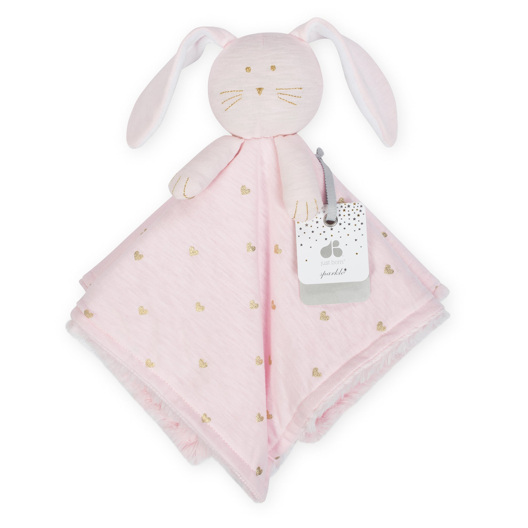 Baby Girls Bunny Security Blanket-Gerber Childrenswear Wholesale