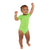 Short Sleeve Green Onesies® Bodysuit-Gerber Childrenswear Wholesale