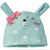 3-Piece Organic Baby Girls Floral Bunny Onesies® Bodysuit, Pant, & Cap Set-Gerber Childrenswear Wholesale