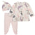 3-Piece Baby Girls Bunny Shirt, Footed Pant, and Cap Set-Gerber Childrenswear Wholesale