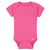 Premium Short Sleeve Onesies® Bodysuit in Hot Pink-Gerber Childrenswear Wholesale