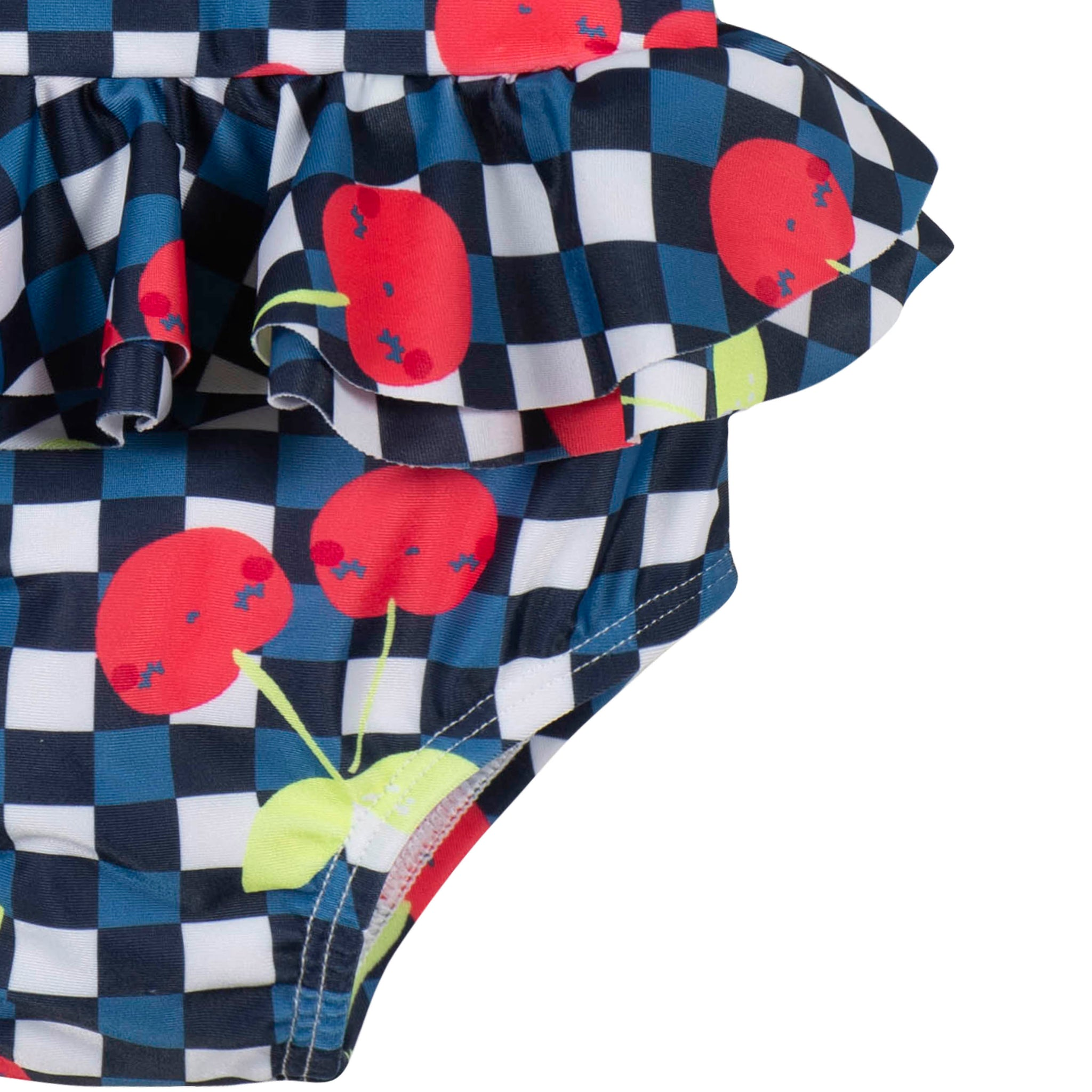 Girls Cherry One-Piece Swimsuit-Gerber Childrenswear Wholesale