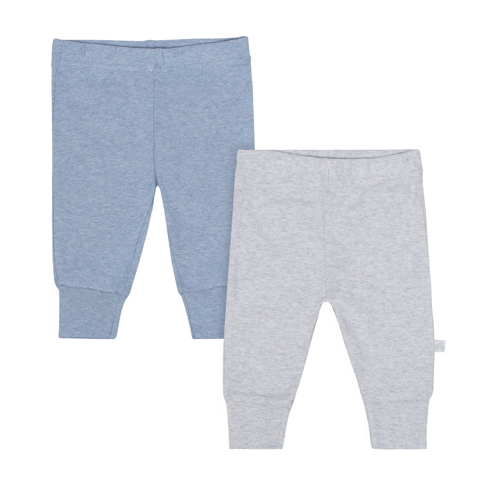 Just Born® 2-Pack Baby Boys Space Organic Active Pants-Gerber Childrenswear Wholesale