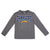 Los Angeles Chargers Toddler Boys Long Sleeve Tee Shirt-Gerber Childrenswear Wholesale