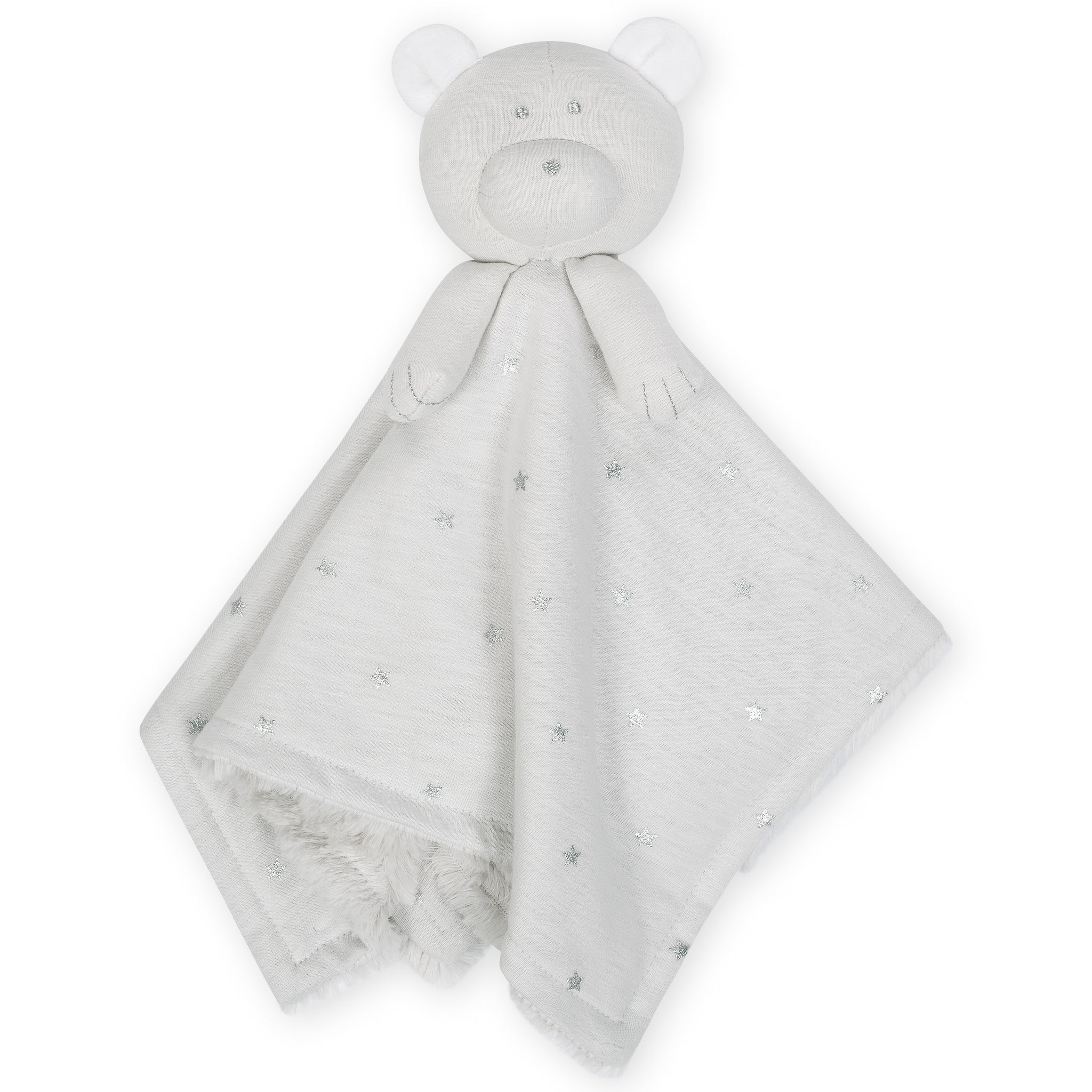 Baby Neutral Bear Security Blanket-Gerber Childrenswear Wholesale