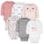 6-Pack Baby Girls Bear Long Sleeve Onesies® Bodysuits-Gerber Childrenswear Wholesale