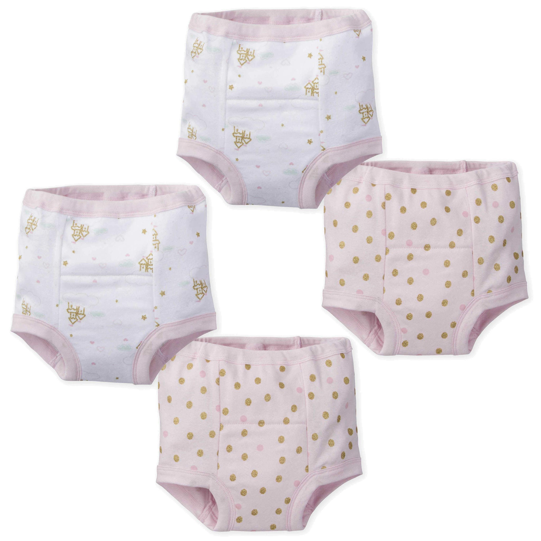 4-Pack Girls Castle Training Pants-Gerber Childrenswear Wholesale