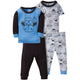 Gerber® 4-Piece Hello Monkey PJ's-Gerber Childrenswear Wholesale