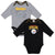 2-Pack Pittsburgh Steelers Long Sleeve Bodysuits-Gerber Childrenswear Wholesale