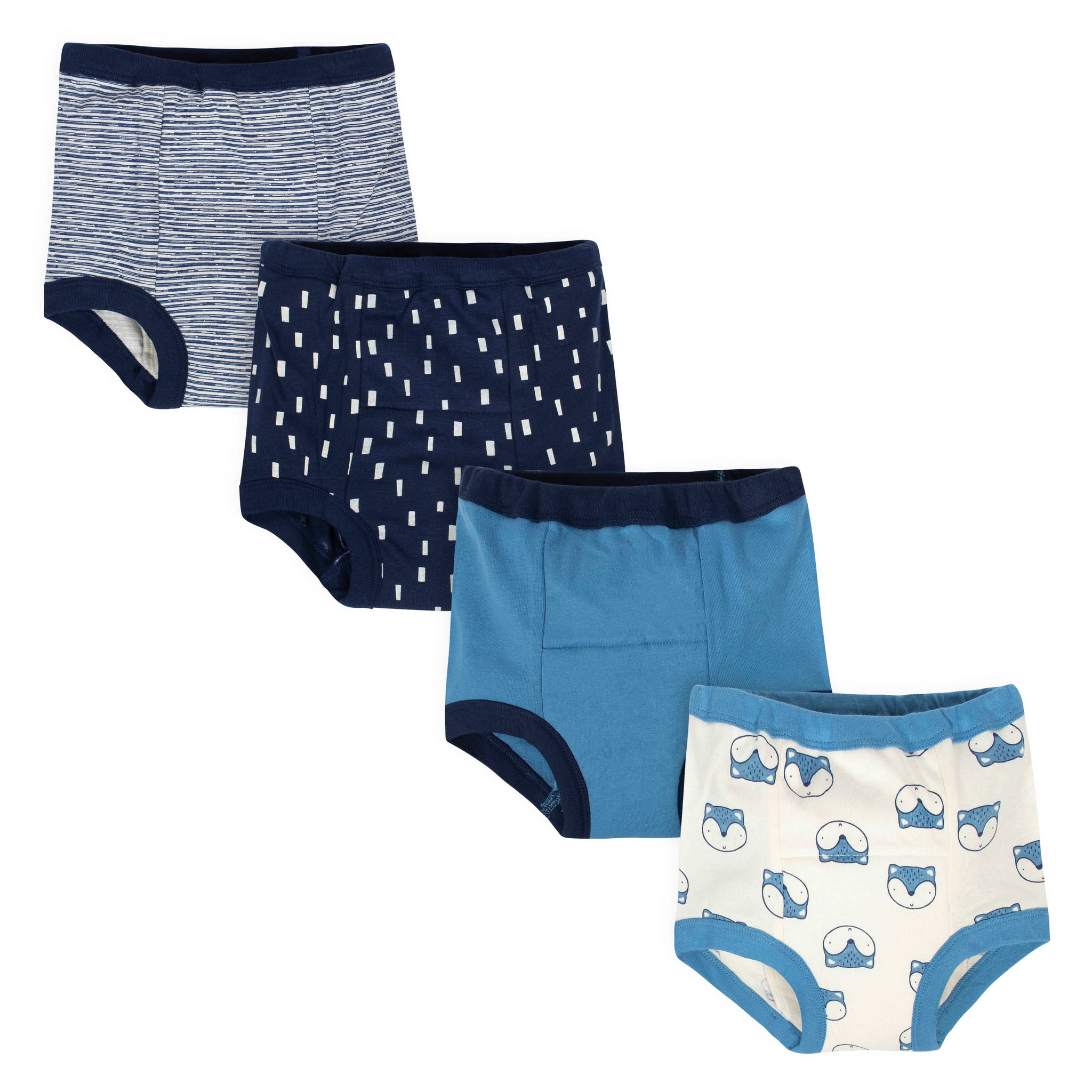 4-Pack Boys Fox Training Pants-Gerber Childrenswear Wholesale