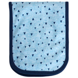 4-Pack Baby Boys Blue Triangle Burpcloths-Gerber Childrenswear Wholesale
