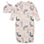 2-Piece Baby Girls Bunny Gown and Cap Set-Gerber Childrenswear Wholesale