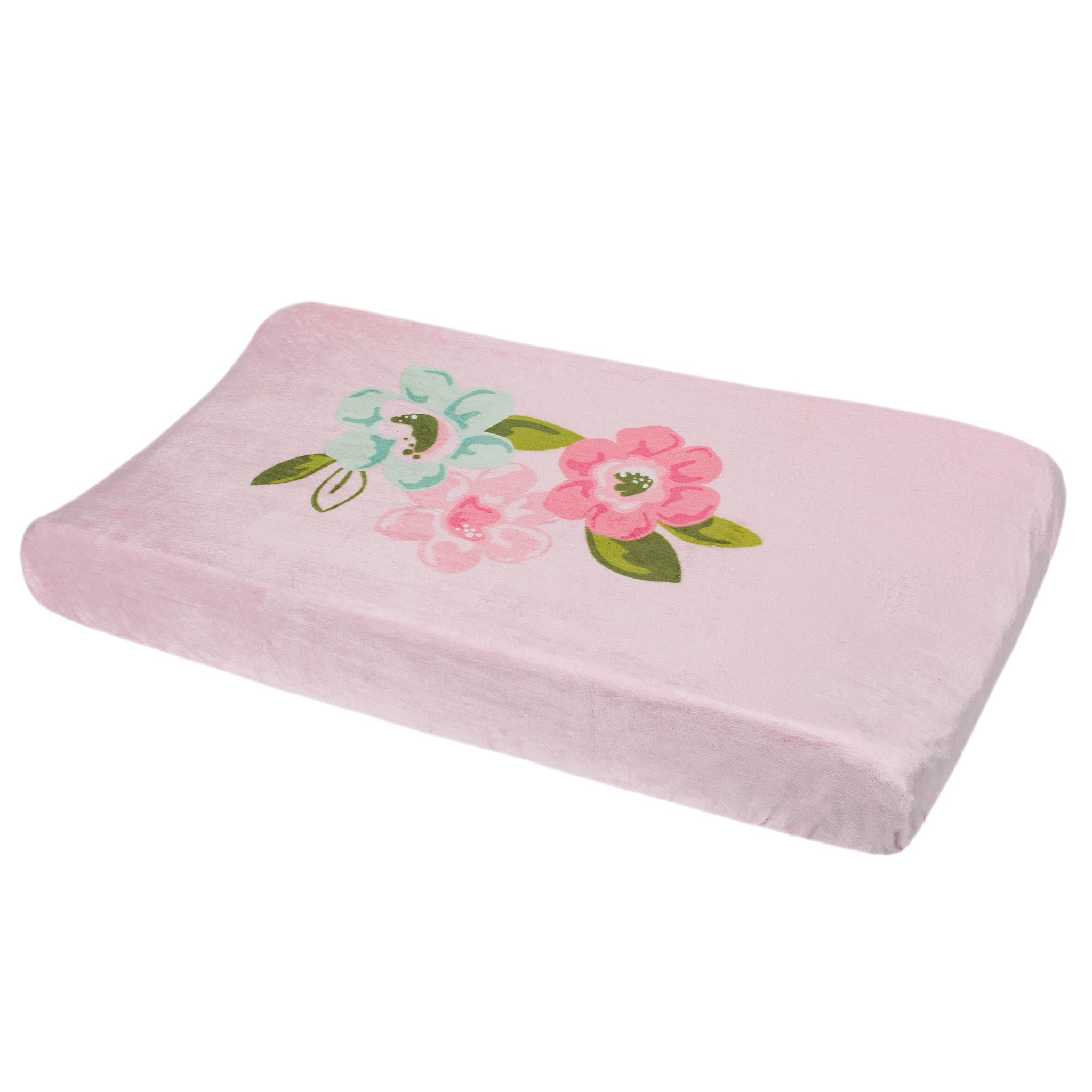 Baby Girls Blossom Changing Pad Cover-Gerber Childrenswear Wholesale