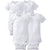 4-Pack Baby and Toddler Neutral White Short Sleeve Onesies®-Gerber Childrenswear Wholesale