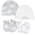 4-Pack Baby Neutral Lamb Caps and Mittens Set-Gerber Childrenswear Wholesale