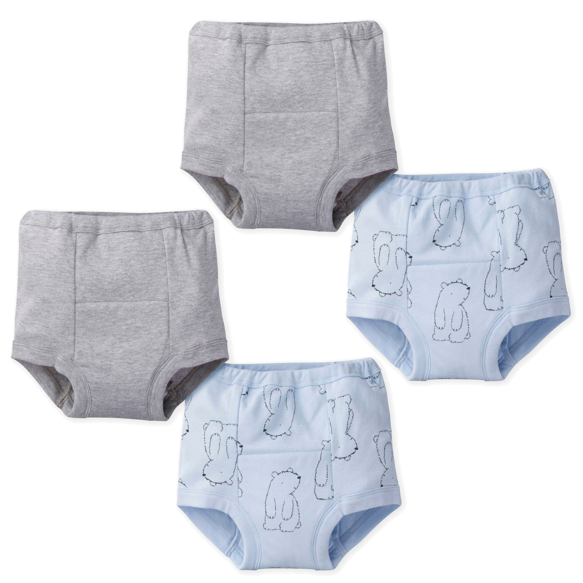 4-Pack Boys Bear Training Pants-Gerber Childrenswear Wholesale