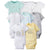 8-Pack Baby Neutral Animals Short Sleeve Onesies® Bodysuits-Gerber Childrenswear Wholesale