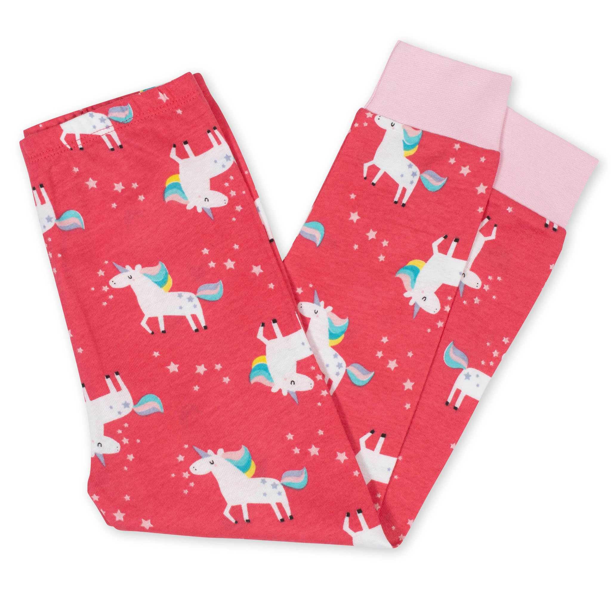 4-Piece Girls Unicorn Cotton Pajamas-Gerber Childrenswear Wholesale