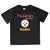 Pittsburgh Steelers Short Sleeve Tee-Gerber Childrenswear Wholesale