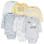 6-Pack Baby Neutral Sheep Long Sleeve Onesies® Bodysuits-Gerber Childrenswear Wholesale