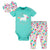 3-Piece Baby Girls Unicorn Bodysuit, Pant, and Cap Set-Gerber Childrenswear Wholesale