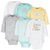 6-Pack Baby Neutral Animals Long Sleeve Onesies® Bodysuits-Gerber Childrenswear Wholesale