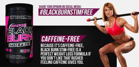 Black Burn STIM-Free - Stacker 2 • 90 softgels (30 dagen) • Afslanken & Vetverbranden
