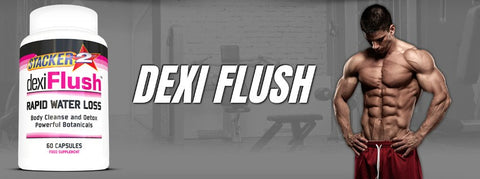 Dexi Flush (USA Import) - Stacker 2 • 60 capsules  (30 servings) • Detox & Vochtafdrijver - banner