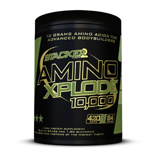 Amino Xplode 10,000  - Stacker 2 • 420 tabletten (84 servings) • Aminozuren & Herstel - product packshot