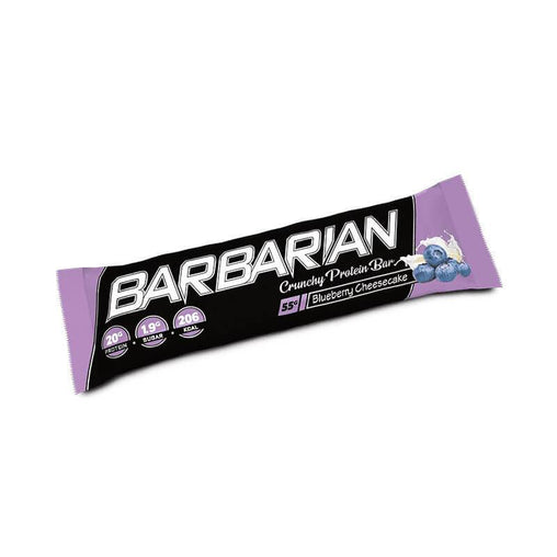 Barbarian - Stacker 2 • 1 eiwitreep (55 gram per bar) • Eiwit & Proteine snack repen - Blueberry Cheesecake