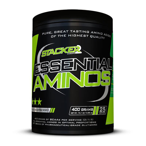 Essential Aminos - Stacker 2 • 400 gram (25 servings) • Aminozuren & Herstel