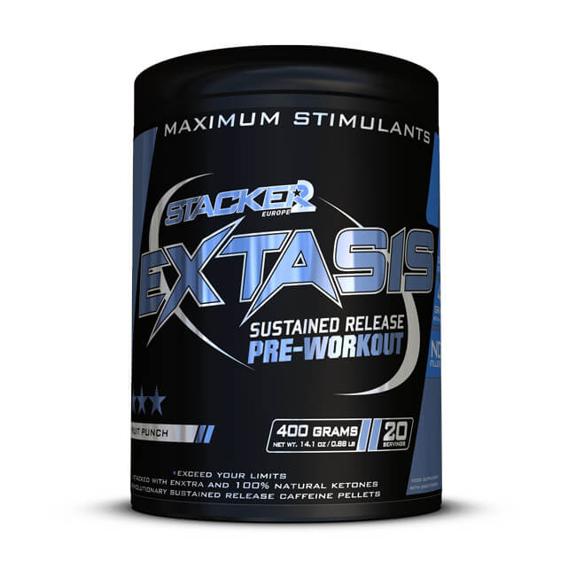 Extasis - Stacker 2 • 400 gram (20 servings) • Pre-workout / Training - product shot