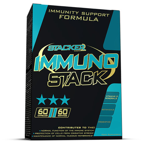 Immuno Stack - Stacker 2 • 60 capsules (60 servings) • Gezondheid & Immuunsysteem - product shot