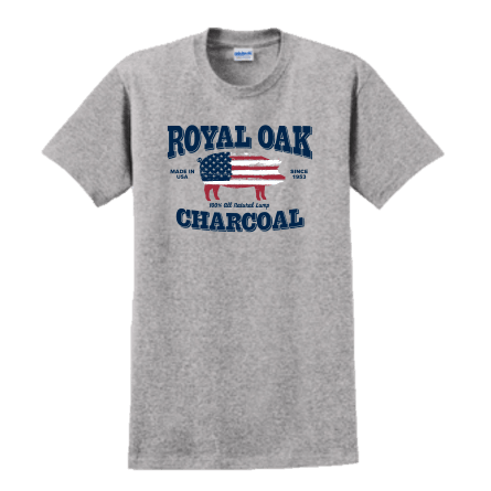 Royal Oak USA Pig Tee (2 Materials Available)