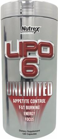 Nutrex - Lipo 6 Unlimited - 120 Liquid Capsulas (New Formula)