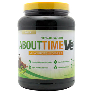 SDC Nutrition - About Time Ve (Proteina Vegan) 2 lbs (908g) - NutriVita