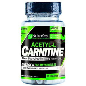 Nutrakey - Acetyl L-Carnitina 60 Capsulas