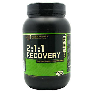 Optimum 2:1:1 Recovery Chocolate 3.73 lbs - NutriVita