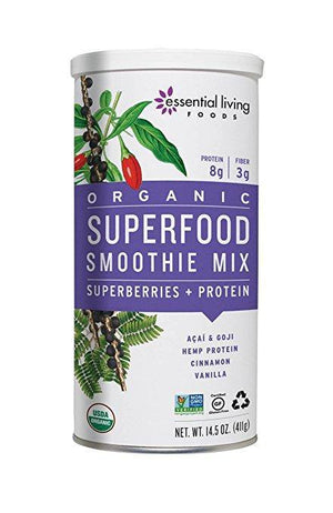Essential Living Foods Organic Superfood Smoothie Mix (411 gr) - NutriVita