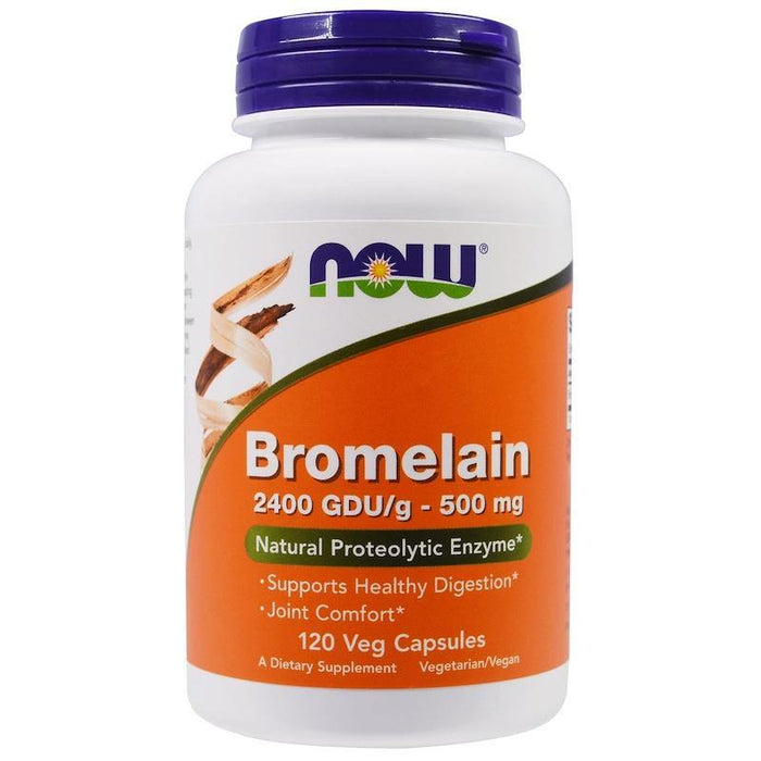 Now Foods Bromelina 500 mg 120 Veg Capsulas